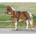 Poprsní postroj syntetický pony