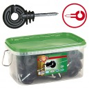 Izolátor s vrutem v kbelíku