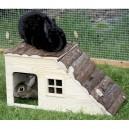 Domek pro hlodavce s rampou