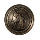 Knoflík s koníkem k saku Tattini a Daslö malý